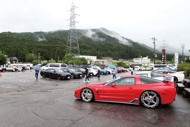 【アメマガキャラバン 富山】久々の開催なのに大雨… それでも約80台の仲間が来場!
