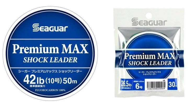 シーガー「プレミアムマックスショックリーダー」に0.4~0.6号追加