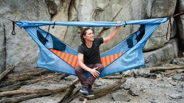 ソロキャンパーも必見!ハンモックとテントが融合した「Haven Tent」
