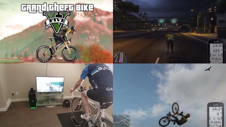 【GT Bike V】グラセフをスマートトレーナーでズイフト化する神ゲーム