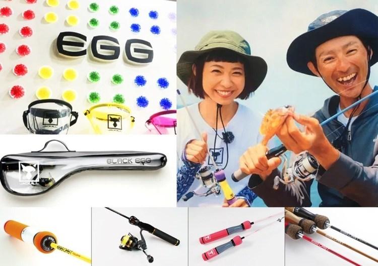 【EGG(エッグ)ロッドシリーズ】釣りを楽しくするジャッカルのRODシリーズを紹介