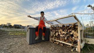 【キャンプ場をDIY】薪棚を作ろう!DIY芸人タケトの師匠がやってきた!【#4】