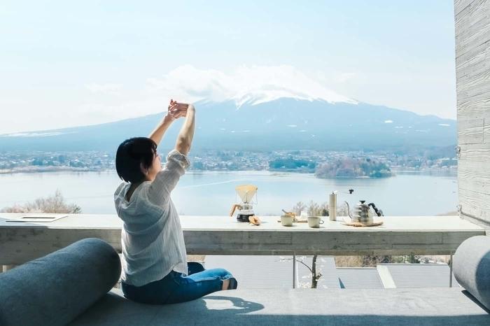 3密対策を徹底したグランピングリゾート「星のや富士」でリフレッシュ!