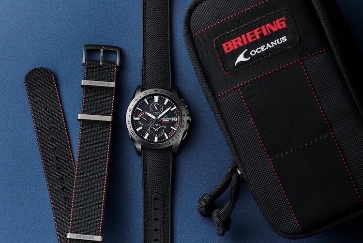 ブリーフィング×オシアナスが生んだ、タフでスポーティなコラボ時計。オリジナルポーチ付き。