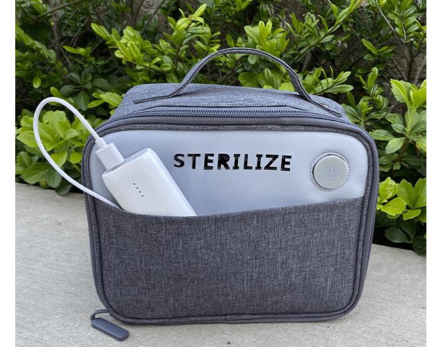 """入れるだけで""""360度3D除菌""""できるバッグが最強すぎる件"""