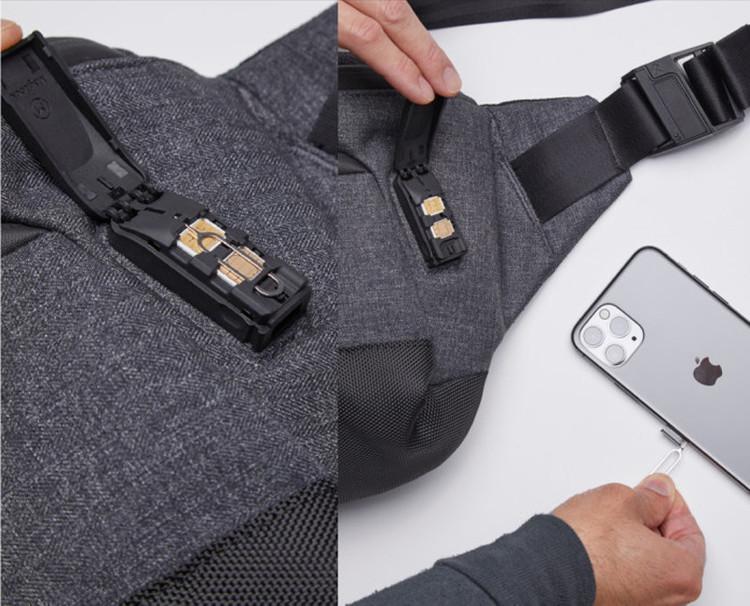 抗菌ポケット付き!耐火性に優れたタフなバッグがクラファンに登場