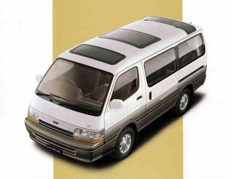 """ハイエースWGN - """"もうひとつの最高級車""""を謳った4代目1BOXワゴン"""