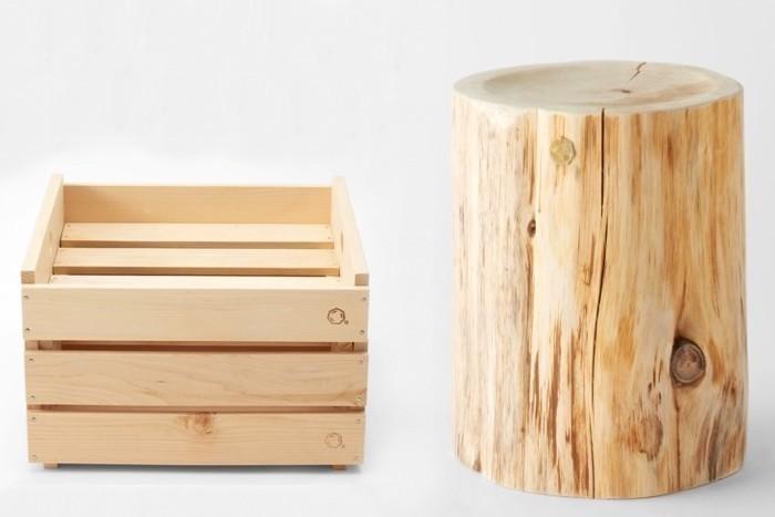 外でも使いたい、青森ヒバから生まれた上質インテリアギア。天然素材ならではの機能も魅力。