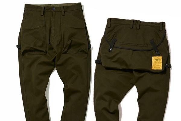 ネイタルデザインの名作パンツを復刻! 大容量ポケットがアップデートしたコラボ仕様。【GO OUT夏のコラボフェス開催中!!】
