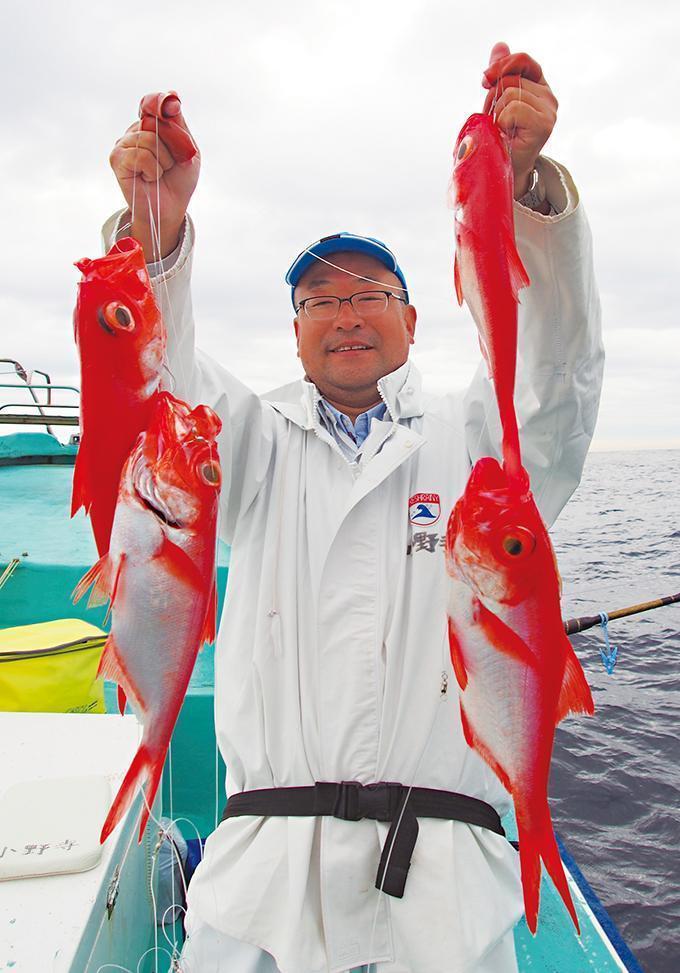 10連チャンス!新島沖 ジャイアントキンメ!圧巻の多点掛け!