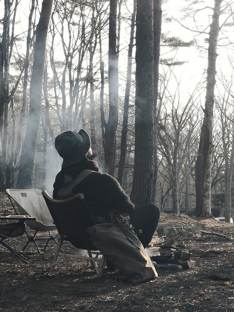 「無骨おしゃれ」なキャンパーの、ハンモックのあるキャンプ生活。