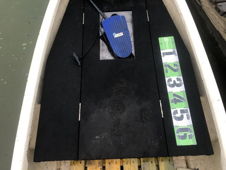 RYUGI デッキメジャーステッカーⅡ インプレ。荷物を減らしたいボートアングラーに最適。