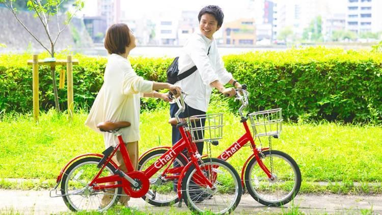 2020年7月中旬より名古屋市内でシェアサイクルサービス「Charichari(チャリチャリ)」を開始