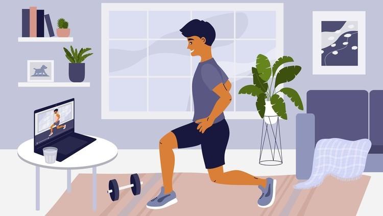 新型コロナの影響で6割超が運動不足に。体重が増えた人は3割、気になる部位は「お腹」