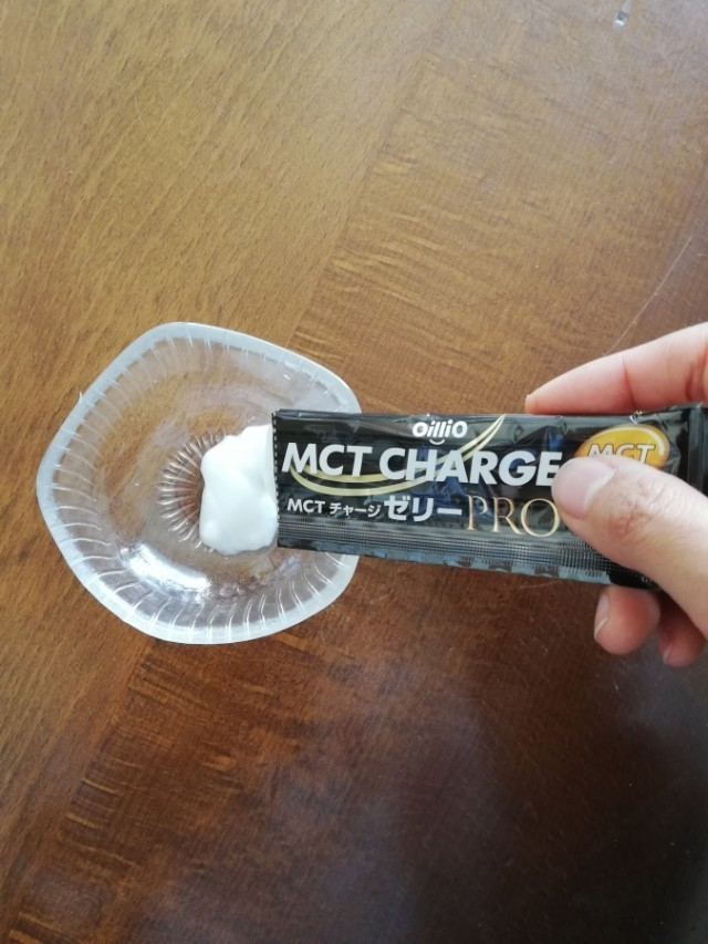 アンバサダーリポート「空腹時・朝ランニングにも『MCT CHARGE ゼリーPRO』」