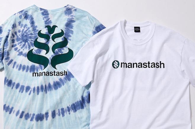 マナスタッシュ創業当時のレアグラフィックを配した、限定Tシャツ発売!