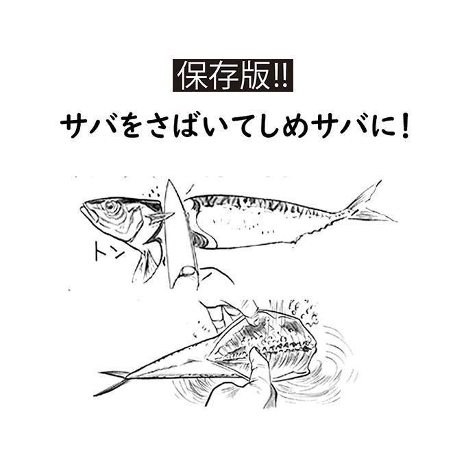 保存版!!釣り人のための魚のさばき方!サバをさばく!