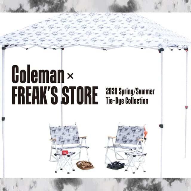 毎年恒例のColeman × FREAK'S STORE別注モデル2020好評販売中♪