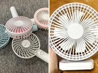 【夏キャンプの暑さ対策】携帯扇風機のおすすめ4選! ハンディ&置き型を用途にあわせて選ぼう