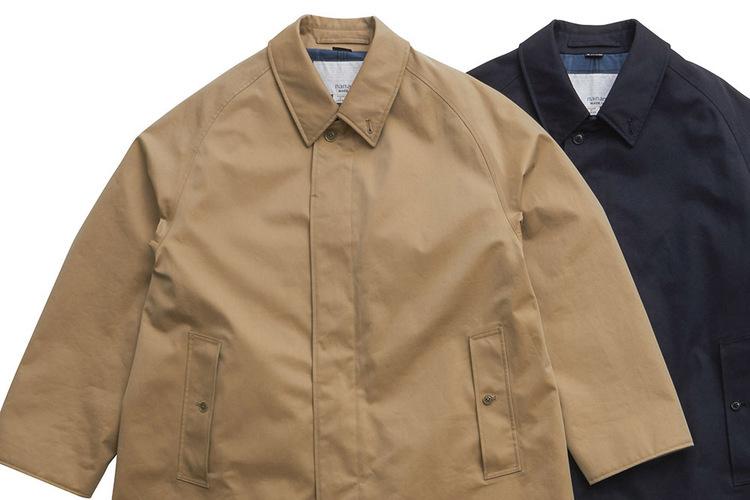 ナナミカの新作コートは、ゴアテックスとCOOLMAXの合わせワザ。夏でも品よく快適に!