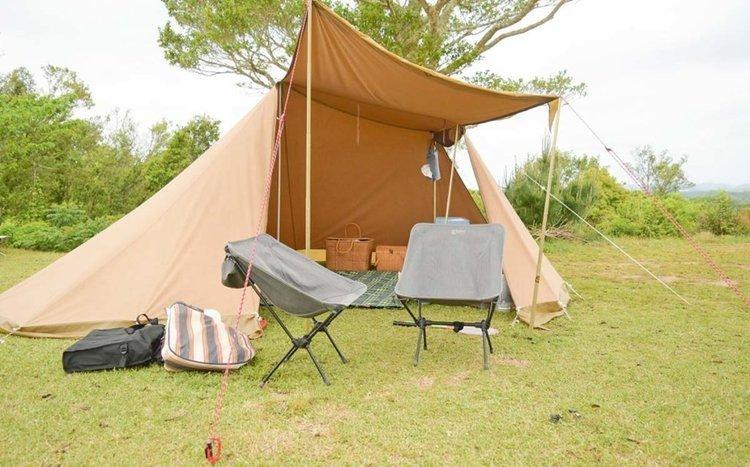 キャンプでの1日の流れをキャンプ初心者向けにまとめました
