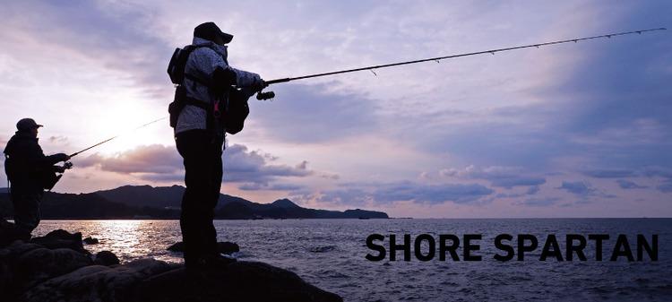 ショアスパルタンでシイラや青物を釣りたい!ダイワの人気ショアジギングロッドシリーズ