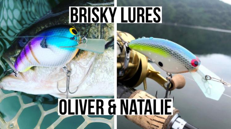 "BRISKY LURES ""Oliver""& ""Natalie""インプレ。見た目はOld school、中身は職人ワザ。なハンドメイドクランク。"