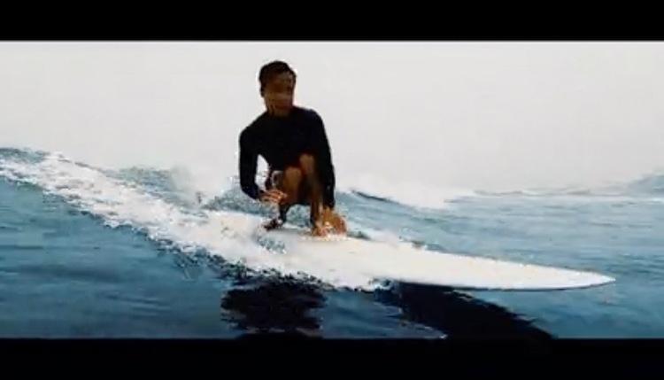 """ミッドレングス『ピンテール・エッグ 8'3″""""』石川拳大のライディング映像"""