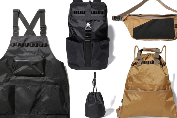 スノーピークの最新X-Pacコレクションが秀逸。エプロンや巾着バッグも、アウトドア風味マシマシに!