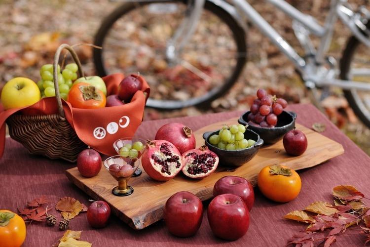 星のや軽井沢が、秋の信州をE-Bikeで満喫する「フルーツサイクリング」を1日1組限定で実施