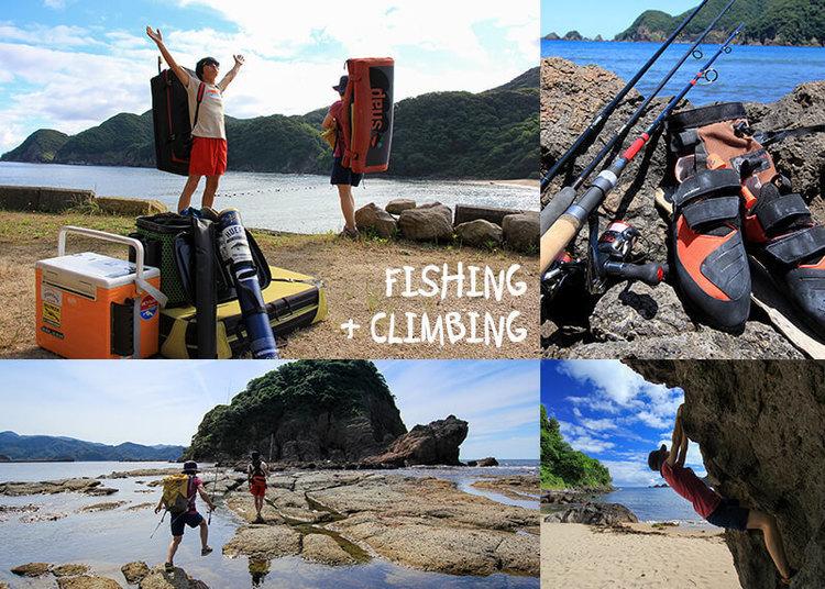 釣りとクライミングの両立は可能か? とりあえず夢中になれるものを満喫すべし!