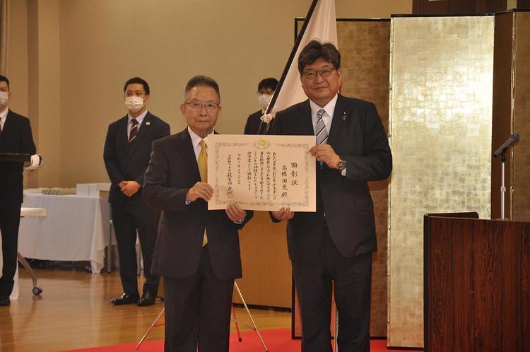 日本レース界の宝! 高橋国光さんがスポーツ功労者として文部科学大臣より顕彰される