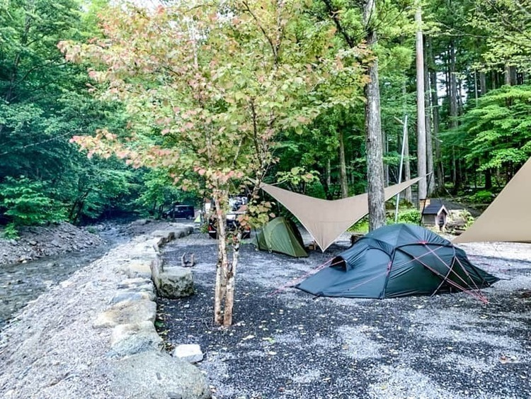 夏にオススメ!蛍の鑑賞もできるオートキャンプ長又はアットホームなキャンプ場でした