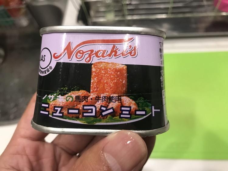 サイクリスト向け ノザキのニューコンミート(コンビーフ)を使ったバカバカしいくらいカンタンレシピ