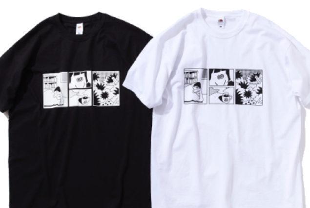 フルーツのプレミアムTにユルいアートを描いた、ここだけの限定Tシャツ発売中!