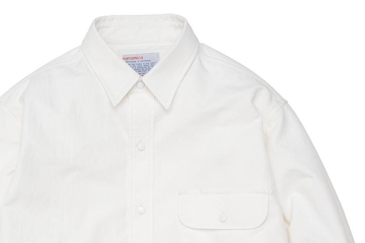白シャツ熱、沸騰目前!?  ナナミカのビッグで清涼なCPOシャツに注目。
