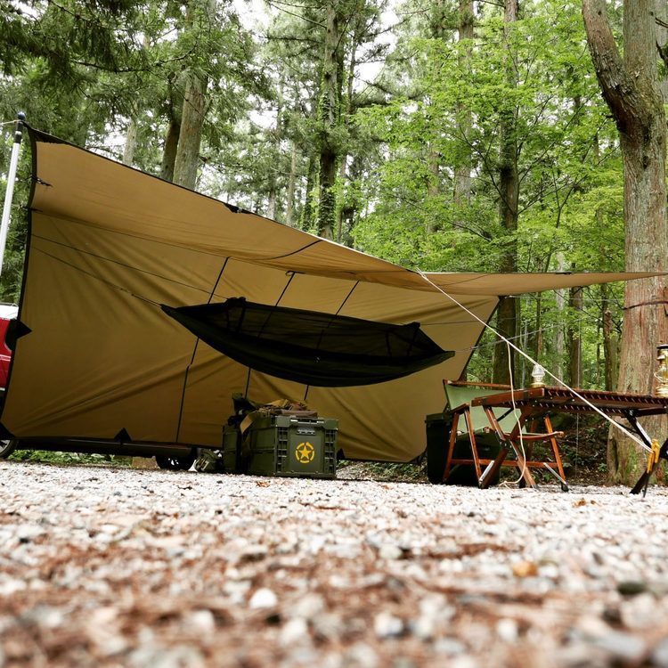 キャンプ歴40年!もはや達人の域に達しているベテランソロキャンパーさんにインタビュー!
