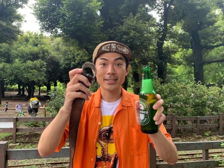 【お願い!たけだバーベキュー】第8弾「栓抜きなしで瓶ビールの蓋を開ける方法を教えて!」