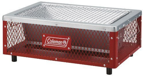 Coleman(コールマン)/フォールディングクールステージ®テーブルトップ グリル(レッド)