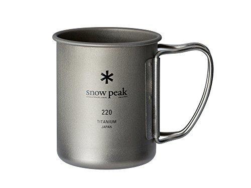 snow peak(スノーピーク)/チタンシングルマグ 220