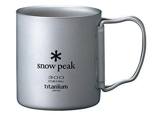 snow peak(スノーピーク)/チタンダブルマグ 300 フォールディングハンドル