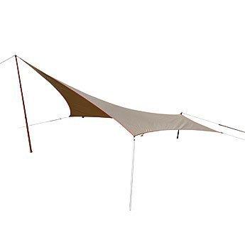 """tent-Mark DESIGNS(テンマクデザイン)/ムササビウイング13ft.TC""""焚き火""""バージョン"""
