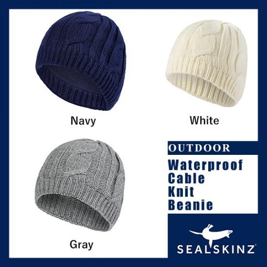 Sealskinz(シールスキンズ)/Waterproof Cable Knit Beanie