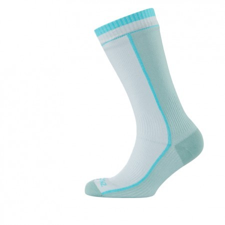 Womens Mid Weight Mid Length Sock