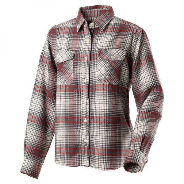 オンブレーチェックシャツ・レディス