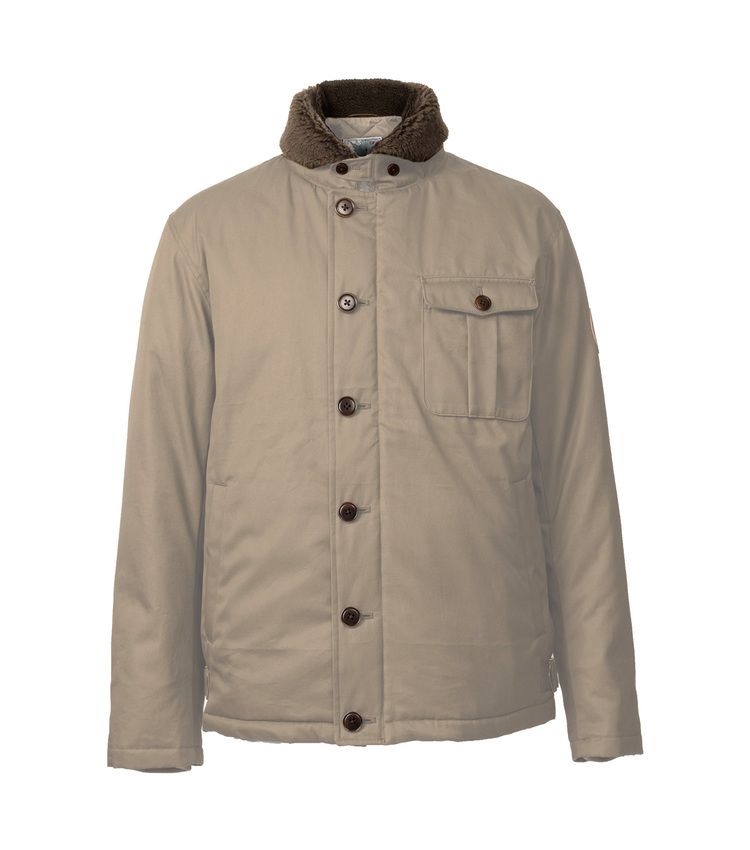 DECK JACKET beg