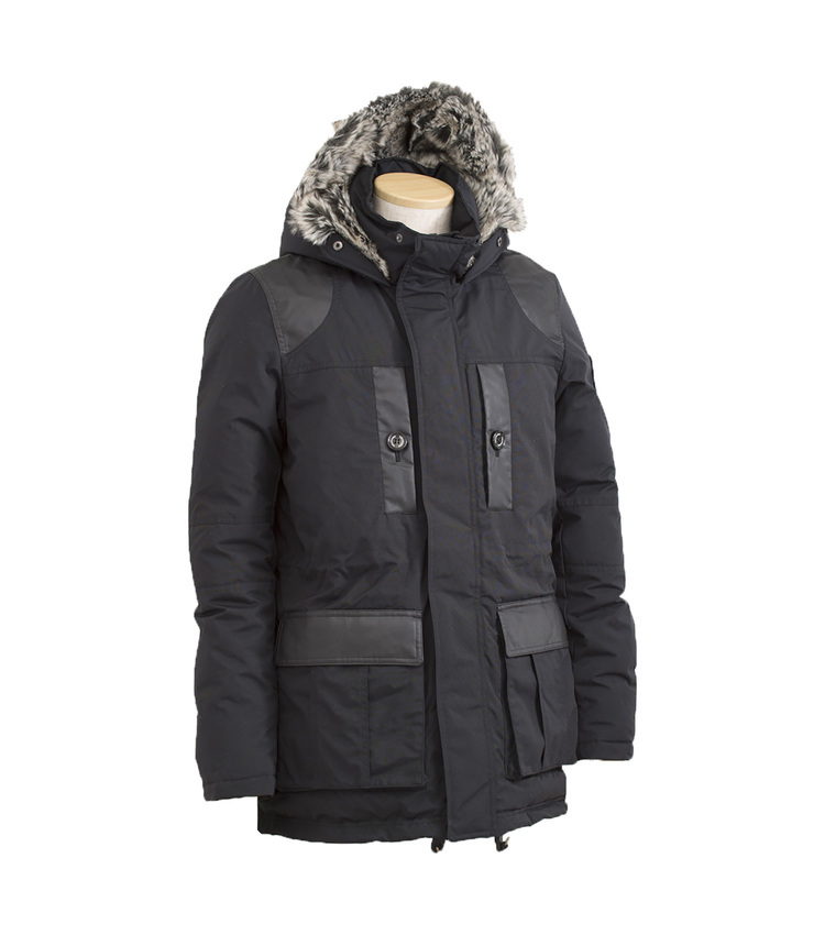 POLEWARDS(ポールワーズ)/GORKHA MOUNTAIN PARKA black