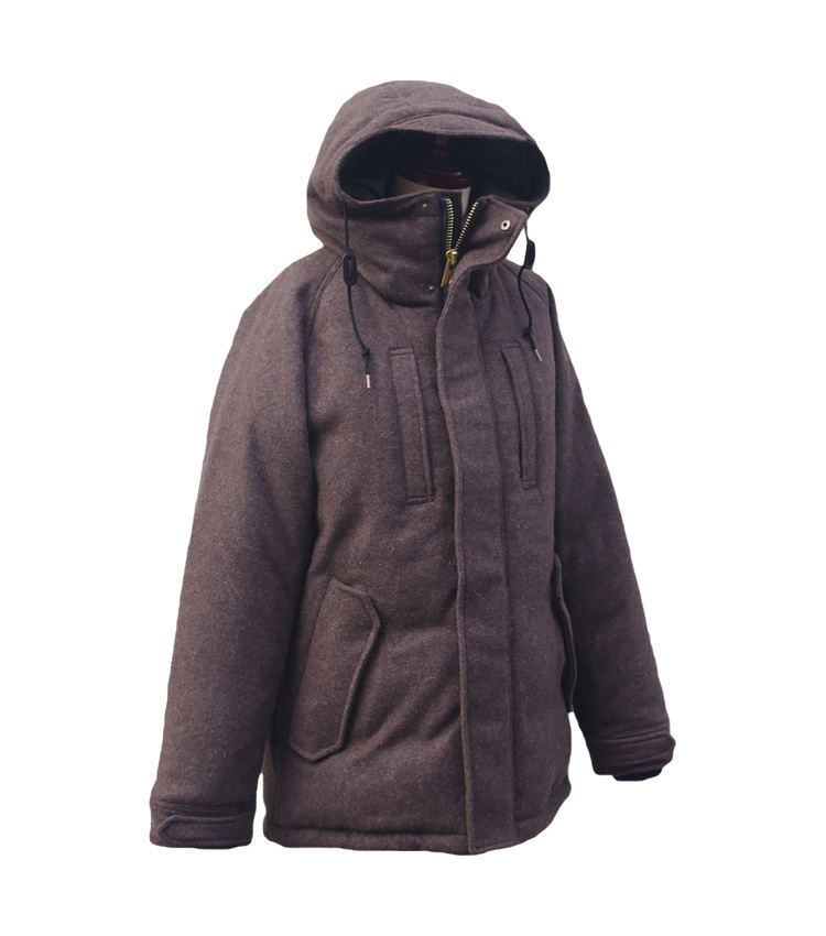 POLEWARDS(ポールワーズ)/ESKIMO PARKA brown