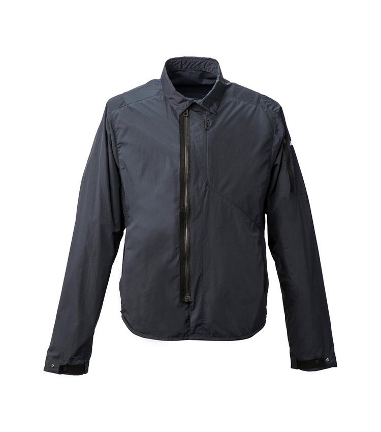 Zip front shirt Jacket nvy