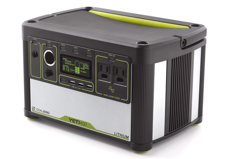 Goal Zero(ゴールゼロ)/Yeti Lithium 400 (100V) Portable Power Station